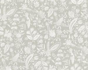 16605-003 TULIA LINEN PRINT French Grey Scalamandre Fabric
