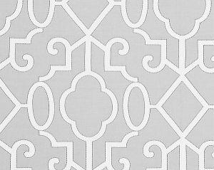 27012-003 MING FRETWORK Pearl Grey Scalamandre Fabric