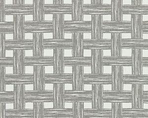 27059-003 BAMBOO LATTICE Stone Scalamandre Fabric