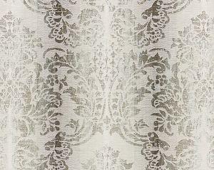 27093-003 SORRENTO LINEN DAMASK Zinc Scalamandre Fabric