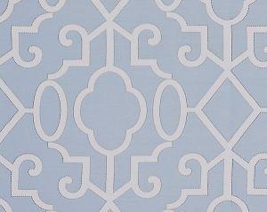 SC 0003WP88356 MING FRETWORK Cloud Scalamandre Wallpaper