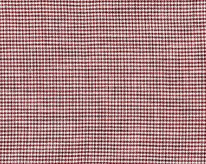 27099-004 BANBURY STRIE CHECK Raspberry Scalamandre Fabric