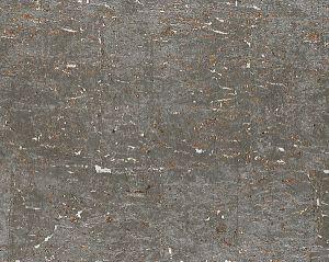 SC 0004WP88336 METAL CORK Graphite Scalamandre Wallpaper