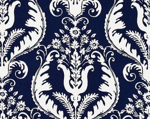 16597-005 PRIMAVERA Navy Scalamandre Fabric