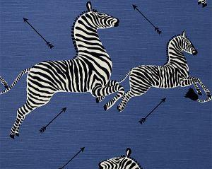 36378-005 ZEBRAS Denim Scalamandre Fabric