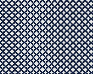 27034-006 MARRAKESH WEAVE Navy Scalamandre Fabric