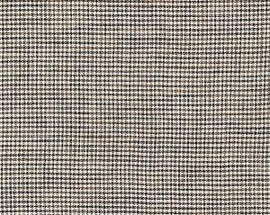 27099-006 BANBURY STRIE CHECK Black Walnut Scalamandre Fabric