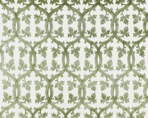 26690M-016 FALK MANOR HOUSE Green Tea Scalamandre Fabric