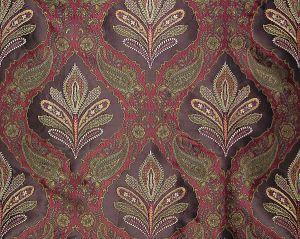 SQ 00011480 DARANI Crimson Ganache Old World Weavers Fabric
