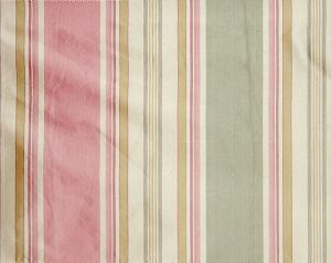 TT 00012003 ARIEL STRIPE Strawberry Caramel Old World Weavers Fabric