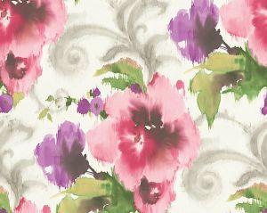 WMA MF010810 MARILYN Pink White Scalamandre Wallpaper