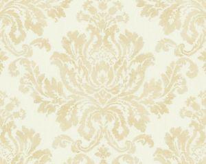 WMA MF010816 VERONA White Gold Scalamandre Wallpaper