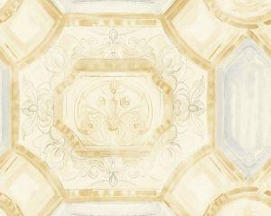 WMA MF030804 JULIUS Gold Silver Scalamandre Wallpaper