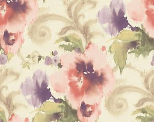 WMA MF030810 MARILYN Light Pink White Scalamandre Wallpaper