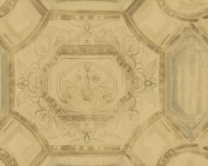 WMA MF050804 JULIUS Gold Scalamandre Wallpaper