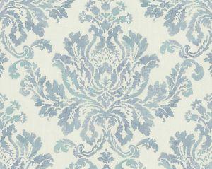 WMA MF090816 VERONA Blue Green Scalamandre Wallpaper