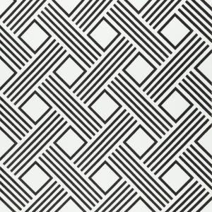 W3308-21 GEO DIAMOND Night Kravet Wallpaper
