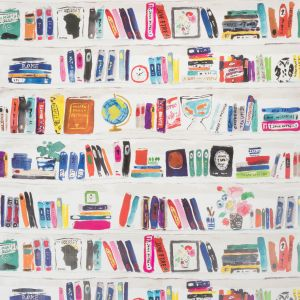 W3332-519 BELLA BOOKS Confetti Kravet Wallpaper
