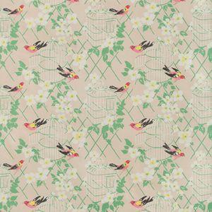 BIRDSONG-17 Blush Kravet Fabric