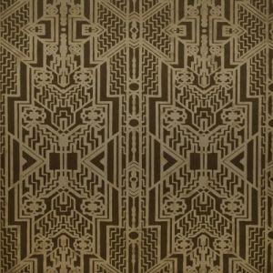 LWP66981W BRANDT GEOMETRIC Bronze Ralph Lauren Wallpaper