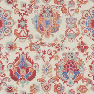 SAROUKRUG-912 Berry Kravet Fabric