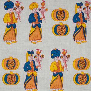 ATTENDANTS Mandarin Katie Ridder Fabric
