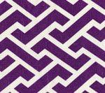 6345-40 AGA REVERSE Purple on Tint Quadrille Fabric