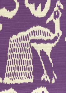2430-40 BALI II Purple on Tint Quadrille Fabric