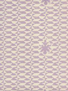 302230B-05 CARLO II NEUTRAL Soft Lavender on Tint Quadrille Fabric