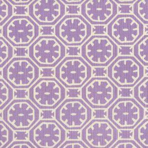 8155-08 CEYLON BATIK REVERSE Purple on Tint Quadrille Fabric