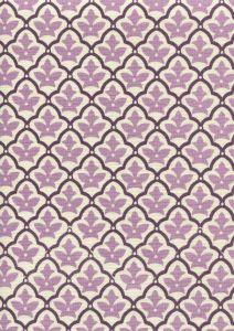 7160-05 CUMBERLAND Purple Lilac on Tint  Quadrille Fabric