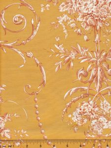 2478-110 DIVA POPLIN Ochre Quadrille Fabric