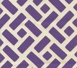 3070-08 EDO GRANDE Purple on Tint Custom Only Quadrille Fabric