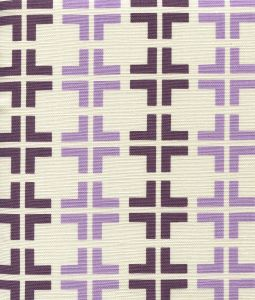 8110-04 FROWICK Purple Lilac on Tint Quadrille Fabric