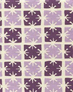 8090-05 GEORGIA SMALL SCALE Lilac Purple on Tint Quadrille Fabric