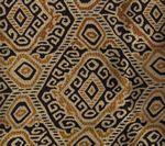 009830T INCA Multi Cinnamon Gold Quadrille Fabric