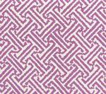 3080-28 JAVA JAVA Lilac on White Linen Cotton Quadrille Fabric