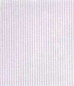 6920W-14 LILA STRIPE Soft Lavender on White Linen Quadrille Fabric