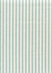 6930W-02 LULU STRIPE Aqua on White Linen Quadrille Fabric