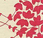 4100-11 LYSETTE Magenta on Tan Quadrille Fabric