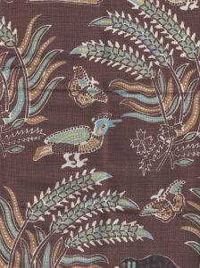 2320-10 MALAY BATIK Brown Quadrille Fabric