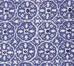 149-20 NITIK II Blue on White Quadrille Fabric