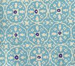 149-33 NITIK II New Turquoise on Tint Quadrille Fabric