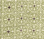 149-40 NITIK II Sage Green Brown Quadrille Fabric