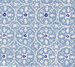 149-201 NITIK II Sky Blue on White Quadrille Fabric