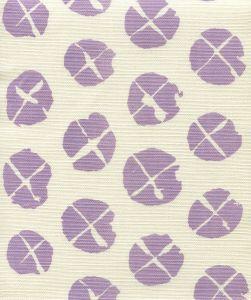 6650-04 OBI II Lavender on Tint Quadrille Fabric