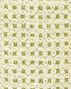 8300-06 PEACOCK BACKGROUND BATIK Jungle Green on Tint Quadrille Fabric