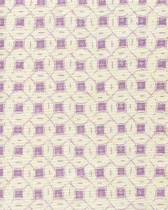 8300-02 PEACOCK BACKGROUND BATIK Lavender on Tint Quadrille Fabric