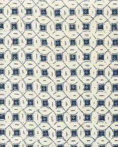 8300-05 PEACOCK BACKGROUND BATIK New Navy on Tint Quadrille Fabric