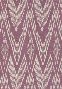 7990-06 RAFFLES REVERSE Lavender on Tint Quadrille Fabric